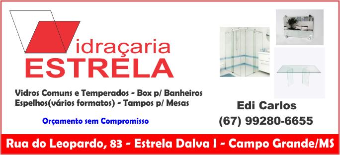 VIDRACARIA-ESTRELA